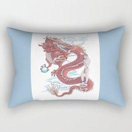 Treasure Dragon Rectangular Pillow