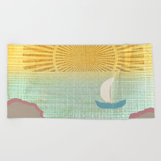 World Traveler Beach Towel