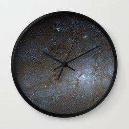 Spiral Galaxy NGC 247 Wall Clock