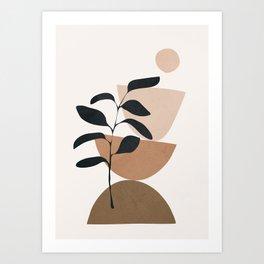 Minimal Shapes No.55 Art Print