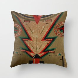 Slotted 3 Throw Pillow