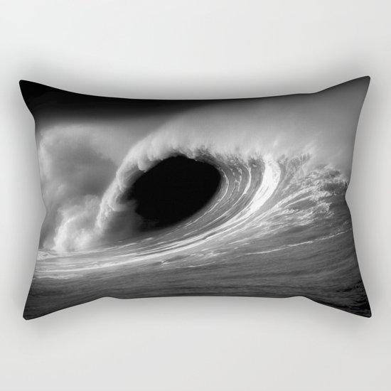 More Fun With Big Waves Rectangular Pillow