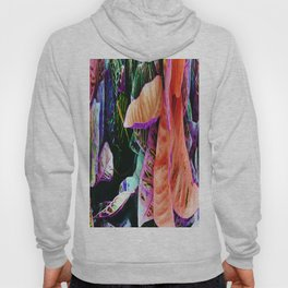 425 - Abstract foliage design Hoody