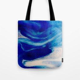 Blue Inlet Tote Bag