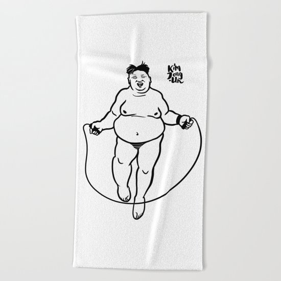 Kim Jong-Un. Little Pleasures. Beach Towel