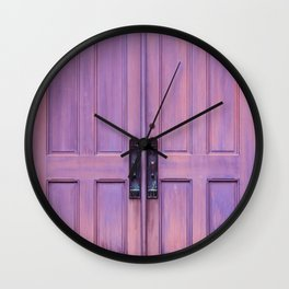 Royal Doors Wall Clock