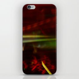 Blurry Life iPhone Skin