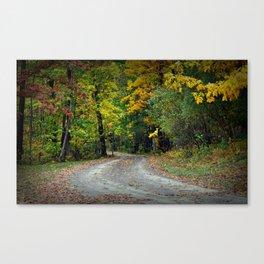 October Road Canvas Print