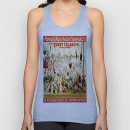 Vintage poster - Circus Unisex Tank Top