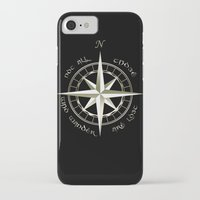 tolkien iPhone & iPod Cases featuring Not all those who wander are lost - J.R.R Tolkien - 2 by Augustinet