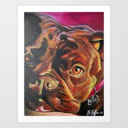 Bubs Art Print