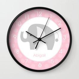 Abigail - Mod Elephant Clock Wall Clock