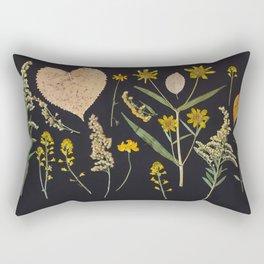 Plants + Leaves 3 Rectangular Pillow