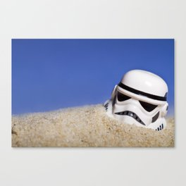The Ravages Of Tatooine Canvas Print