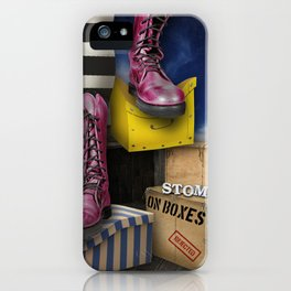 Stomp iPhone Case