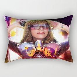 Las Stand Rectangular Pillow