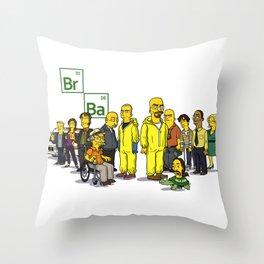 Breaking Bad cast Throw Pillow