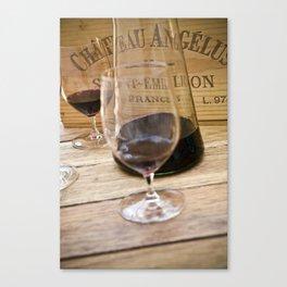 Bordeaux Wine Tasting Canvas Print