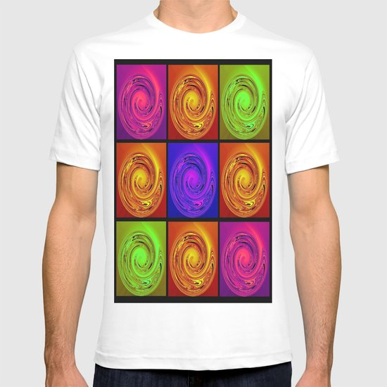 Abstract Collage Art T-shirt