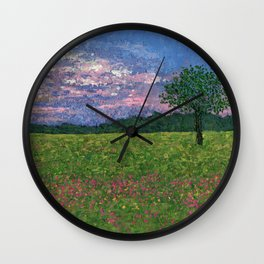 Emergence of Spring Wall Clock