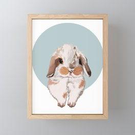 bunny Framed Mini Art Print
