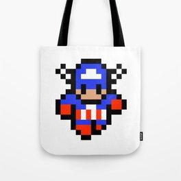 Captain Pixel Tote Bag