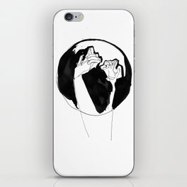 moonlight hands iPhone Skin