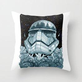 Stormtrooper Treehouse Throw Pillow