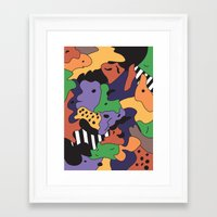 fresh prince Framed Art Prints featuring Fresh Prince by Fresh Prints of Bel Air