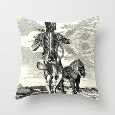 Cenobite Throw Pillow