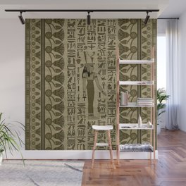 Egyptian Mut Ornament Wall Mural
