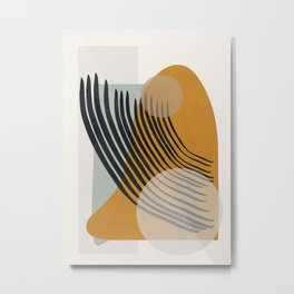 Abstract Shapes 33 Metal Print