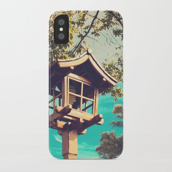 Japanese Lamp  (Retro Vintage Photography) iPhone Case