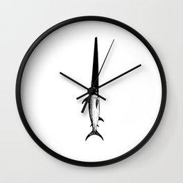 Sawfish Wall Clock