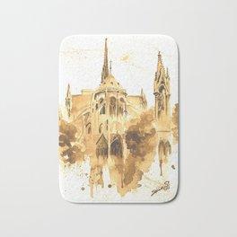 Gothic Notre Dame Bath Mat