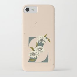 Z for Zinnia iPhone Case