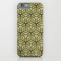 Yellow Apples Pattern iPhone 6s Slim Case