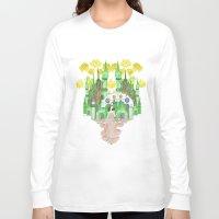 saga Long Sleeve T-shirts featuring Saga by Elin Emanuelsson