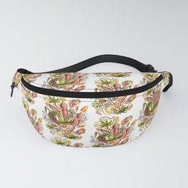Ernst Haeckel Nepenthaceae Pitcher Plant Fanny Pack