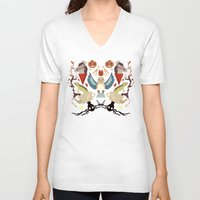 over the garden wall V-neck T-shirts featuring Over The Garden Wall by Berneri