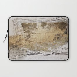 golden Laptop Sleeve