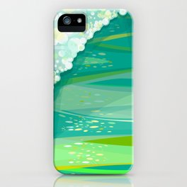 POSEIDON'S WALL iPhone Case