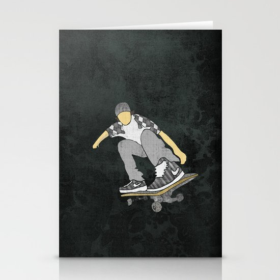 Skateboard 11 Stationery Cards