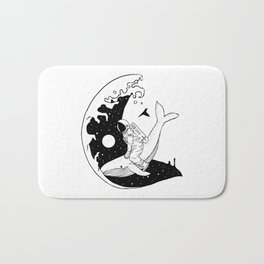 Space Wave (Take Me to the Place You've Dreamed Of) Bath Mat