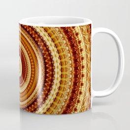 Rustic Brown Bohemian Mandala Coffee Mug