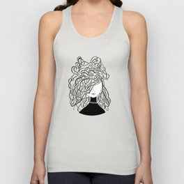 Iconia Girls - Olivia Black Unisex Tank Top