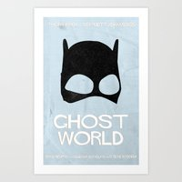 ghost world Art Prints featuring Ghost World by Bill Pyle