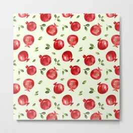 Pomegranate vibes Metal Print