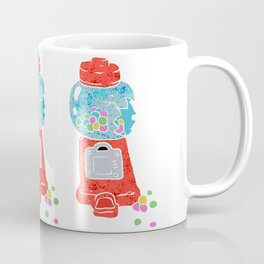 Bubble gum machine. Coffee Mug
