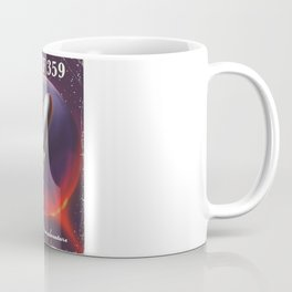 Wolf 359 Vintage science fiction space travel Coffee Mug